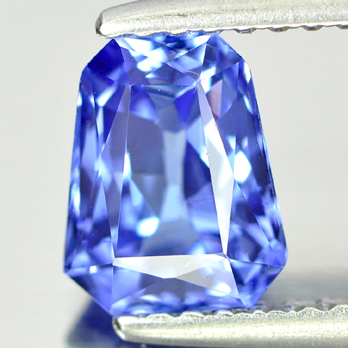 1.27 Ct. Fancy Shape Natural Gem Clean Violetish Blue Tanzanite From Tanzania