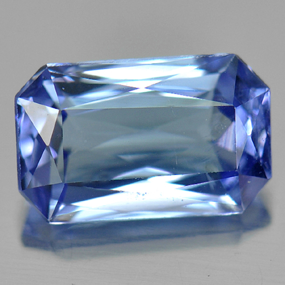 1.20 Ct. Nice Octagon Natural Violetish Blue Tanzanite