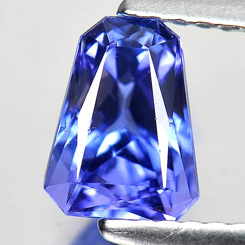 1.29 Ct. Fancy Shape Natural Gemstone Violetish Blue Tanzanite From Tanzania