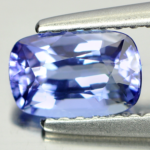 1.05 Ct. Cushion Shape Natural Gem Clean Violetish Blue Tanzanite From Tanzania
