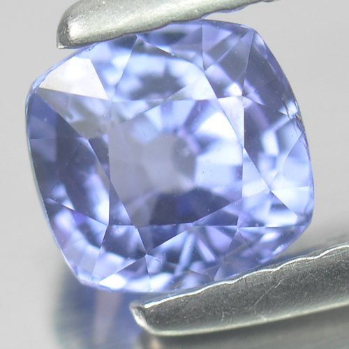 1.04 Ct. Cushion Natural Gem Violetish Blue Tanzanite