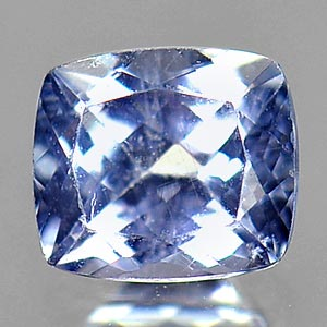 0.51 Ct. Cushion Shape Natural Violetish Blue Tanzanite