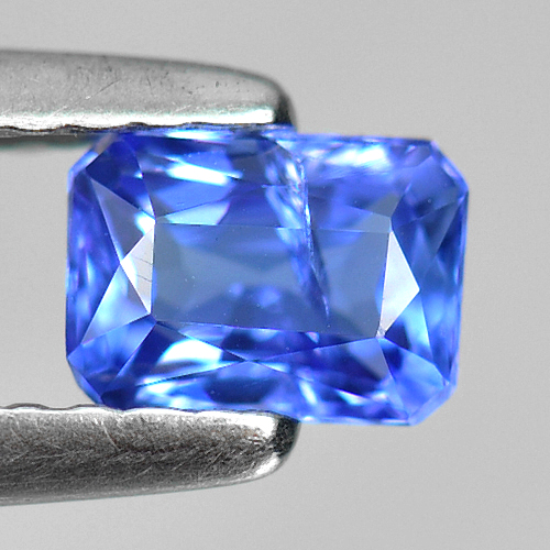 0.47 Ct. Octagon Shape Natural Violetish Blue Tanzanite