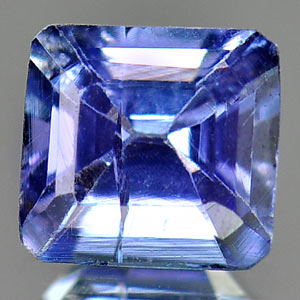 0.66 Ct. Natural Tanzanite Violetish Blue Octagon Shape From Tanzania