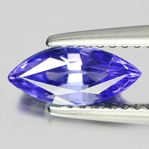 1.13 Ct. Natural Violet Blue Tanzanite Gemstone Marquise Shape