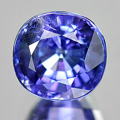 1.10 Ct. Cushion Shape Natural Violet Blue Tanzanite Gemstone