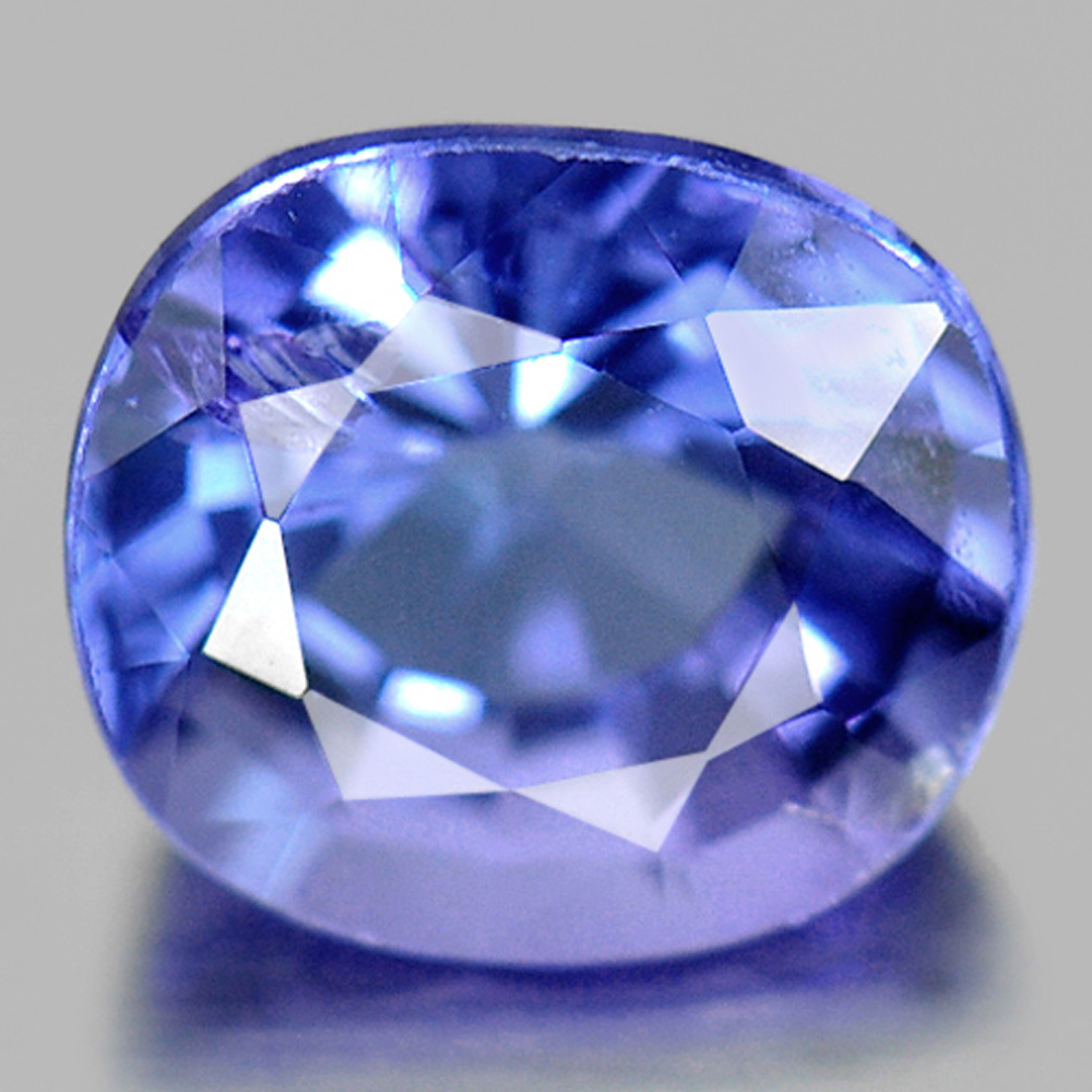 1.03 Ct. Natural Violet Blue Tanzanite Gemstone Cushion Shape