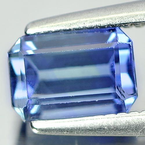 1.20 Ct. Octagon Shape Natural Violetish Blue Tanzanite