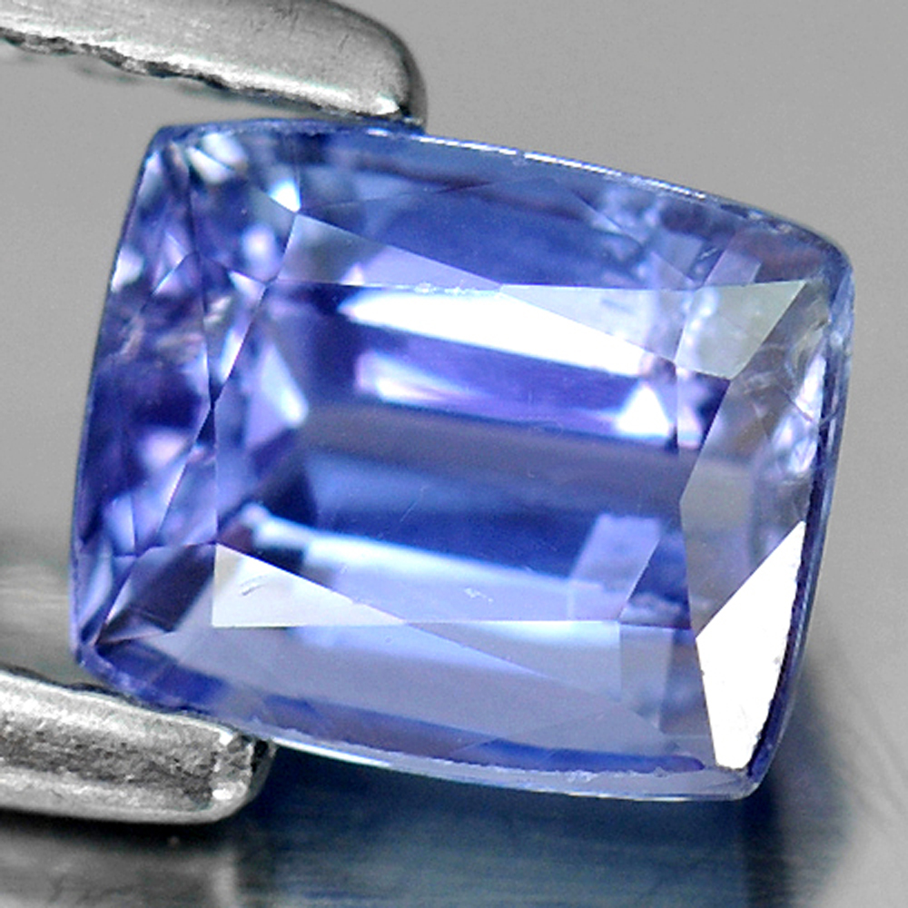 1.03 Ct. Natural Violetish Blue Tanzanite Gemstone Cushion Shape