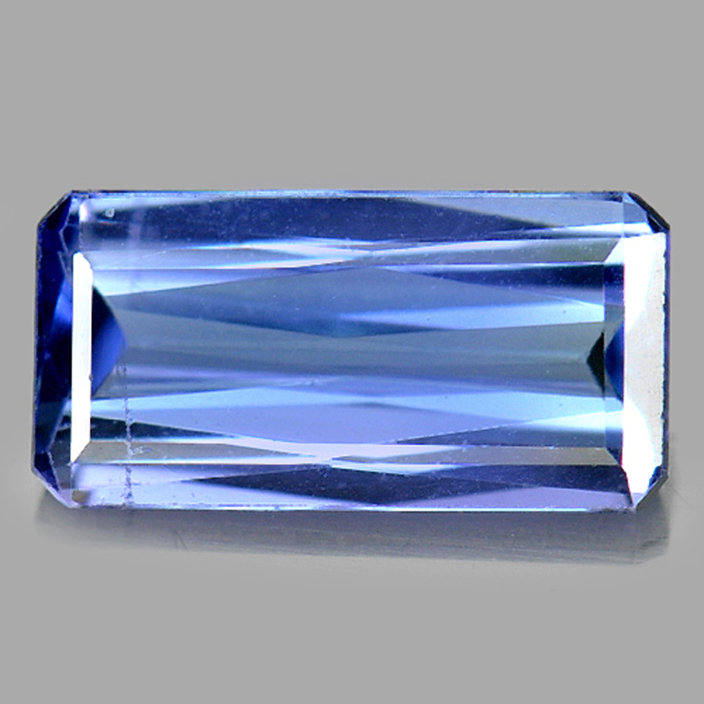 1.12 Ct. Octagon Shape 9.1 x 4.6 Mm. Natural Gemstone Violetish Blue Tanzanite
