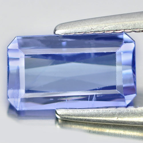 1.03 Ct. Octagon Shape Natural Violetish Blue Tanzanite Gemstone