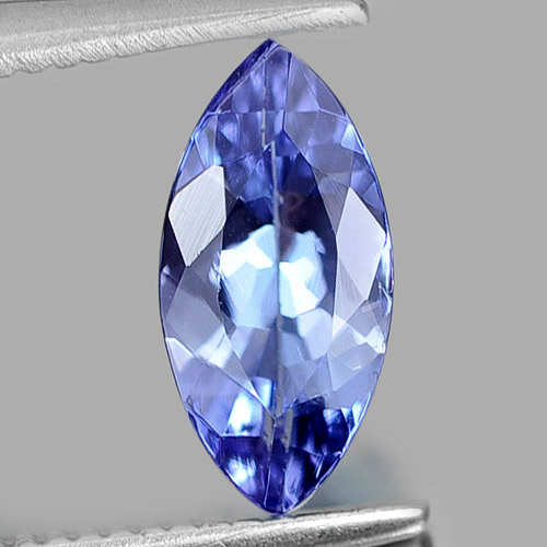 0.75 Ct. Marquise Natural Gem Violetish Blue Tanzanite From Tanzania