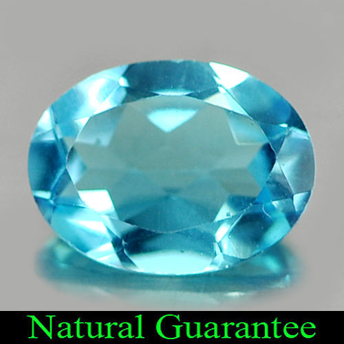 1.25 Ct. Natural Gemstone Swiss Blue Topaz Oval Shape