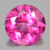 0.89 Ct. Round Shape 6 Mm. Natural Gemstone Pink Topaz From Brazil