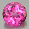 2.33 Ct. Round Shape 8.1 Mm. Natural Gemstone Pink Topaz From Brazil