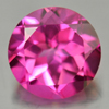 2.27 Ct. Round Shape 8 Mm. Natural Gemstone Pink Topaz From Brazil