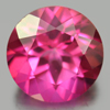 2.36 Ct. Round Shape 8.1 Mm. Natural Gemstone Clean Pink Topaz From Brazil