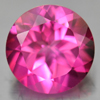 2.36 Ct. Round Shape 8.2 Mm. Natural Gemstone Clean Pink Topaz From Brazil