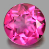2.22 Ct. Round Shape 8.1 Mm. Natural Gemstone Clean Pink Topaz From Brazil