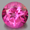 2.24 Ct. Round Shape 8 Mm. Natural Gemstone Pink Topaz From Brazil