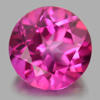 2.31 Ct. Round Shape 8.2 Mm. Natural Gemstone Clean Pink Topaz From Brazil