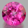 2.42 Ct. Round Shape 8.2 Mm. Natural Gemstone Clean Pink Topaz From Brazil