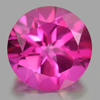 2.17 Ct. Round Shape 8 Mm. Natural Gemstone Pink Topaz From Brazil