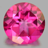 2.17 Ct. Round Shape 8.2 Mm. Natural Gemstone Pink Topaz From Brazil
