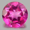 1.97 Ct. Round Shape 8 Mm. Natural Gemstone Clean Pink Topaz From Brazil