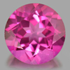 2.34 Ct. Round Shape 8.1 Mm. Natural Gemstone Pink Topaz From Brazil