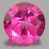 2.18 Ct. Round Shape 8 Mm. Natural Gemstone Clean Pink Topaz From Brazil