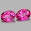 3.22 Ct. Oval Shape Natural Gemstone Clean Pink Topaz Matching Pair