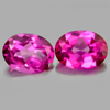 2.70 Ct. Oval Shape Matching Pair Natural Gemstone Clean Pink Topaz  From Brazil
