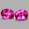 2.73 Ct. Oval Shape Matching Pair Natural Gemstone Clean Pink Topaz  From Brazil