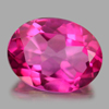 2.03 Ct. Oval Shape 9 x 7 Mm. Natural Gemstone Clean Pink Topaz From Brazil