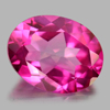 2.07 Ct. Oval Shape Natural Gemstone Pink Topaz From Brazil