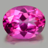 2.37 Ct. Oval Shape 9 x 7 Mm.Natural Gemstone Clean Pink Topaz From Brazil