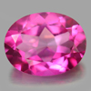 2.12 Ct. Oval Shape 9.1 x 7.1 Mm. Natural Gemstone Clean Pink Topaz From Brazil
