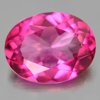 2.03 Ct. Oval Shape 9 x 7.1 Mm. Natural Gemstone Clean Pink Topaz From Brazil