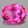 2.20 Ct. Oval Shape 9.2 x 7.2 Mm. Natural Gemstone Clean Pink Topaz From Brazil
