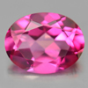1.96 Ct. Oval Shape 8.9 x 6.9 Mm. Natural Gemstone Clean Pink Topaz From Brazil