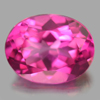 2.37 Ct. Oval Shape 9 x 7 x 5 Mm. Natural Gemstone Clean Pink Topaz From Brazil