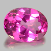 2.22 Ct. Oval Shape 9 x 7 Mm. Natural Gemstone Clean Pink Topaz From Brazil