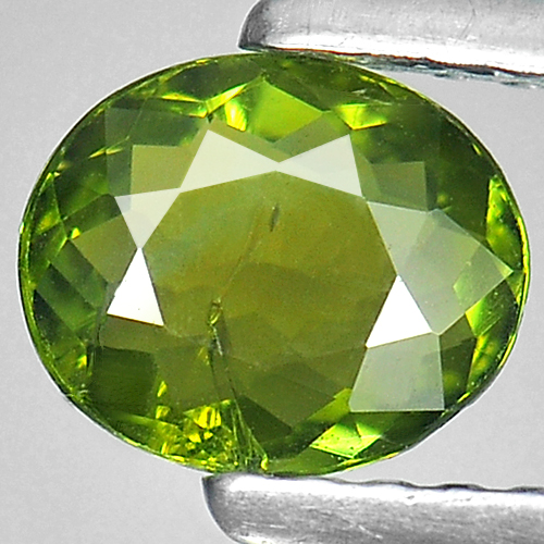 0.54 Ct. Oval Shape Natural Gemstone Green Tourmaline Unheated