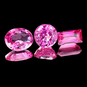 1.68 Ct. 3 Pcs. Adorable Natural Pink Tourmaline Gemstone From Nigeria Unheated