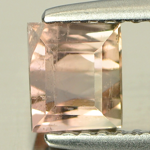 0.94 Ct. Baguette Natural Bi Color Tourmaline Unheated