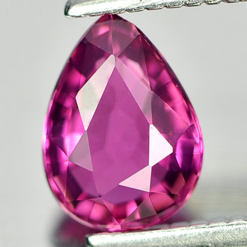 0.68 Ct. Natural Gem Pink Tourmaline Pear Shape From Nigeria Unheated