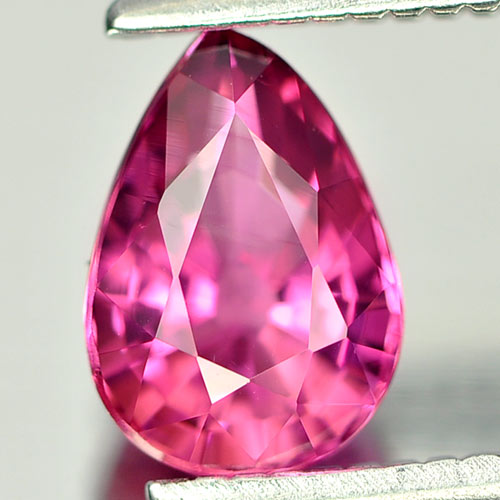 0.79 Ct. Natural Gemstone Pink TOURMALINE Pear Shape Unheated