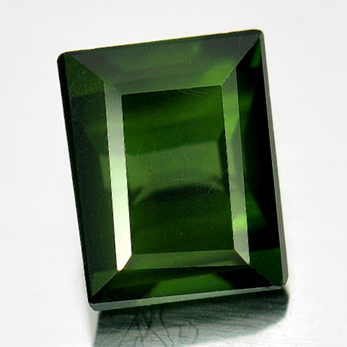 1.25 Ct. Natural Gemstone Green Tourmaline Baguette Shape