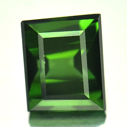 1.07 Ct. Baguette Shape Natural Gem Green Tourmaline Nigeria